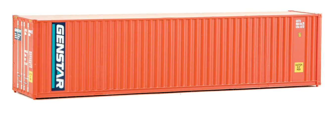 blue, white, red Walthers #949-8265 HO NYK Lines 40/' High Cube Container