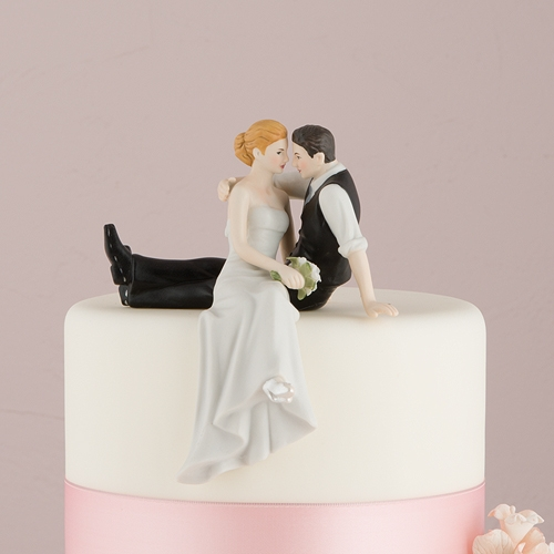 wedding cake toppers kilt the look of wedding cake topper personalized 8831