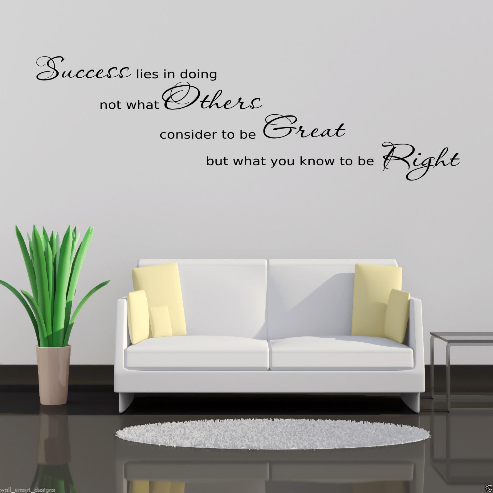 office wall art success office wall sticker lounge quote decal 30538