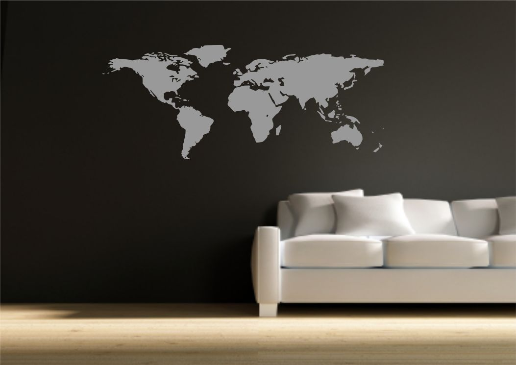 World map atlas wall sticker quote decal transfer mural stencil art world map atlas wall sticker quote decal transfer mural stencil art tattoo gumiabroncs Image collections