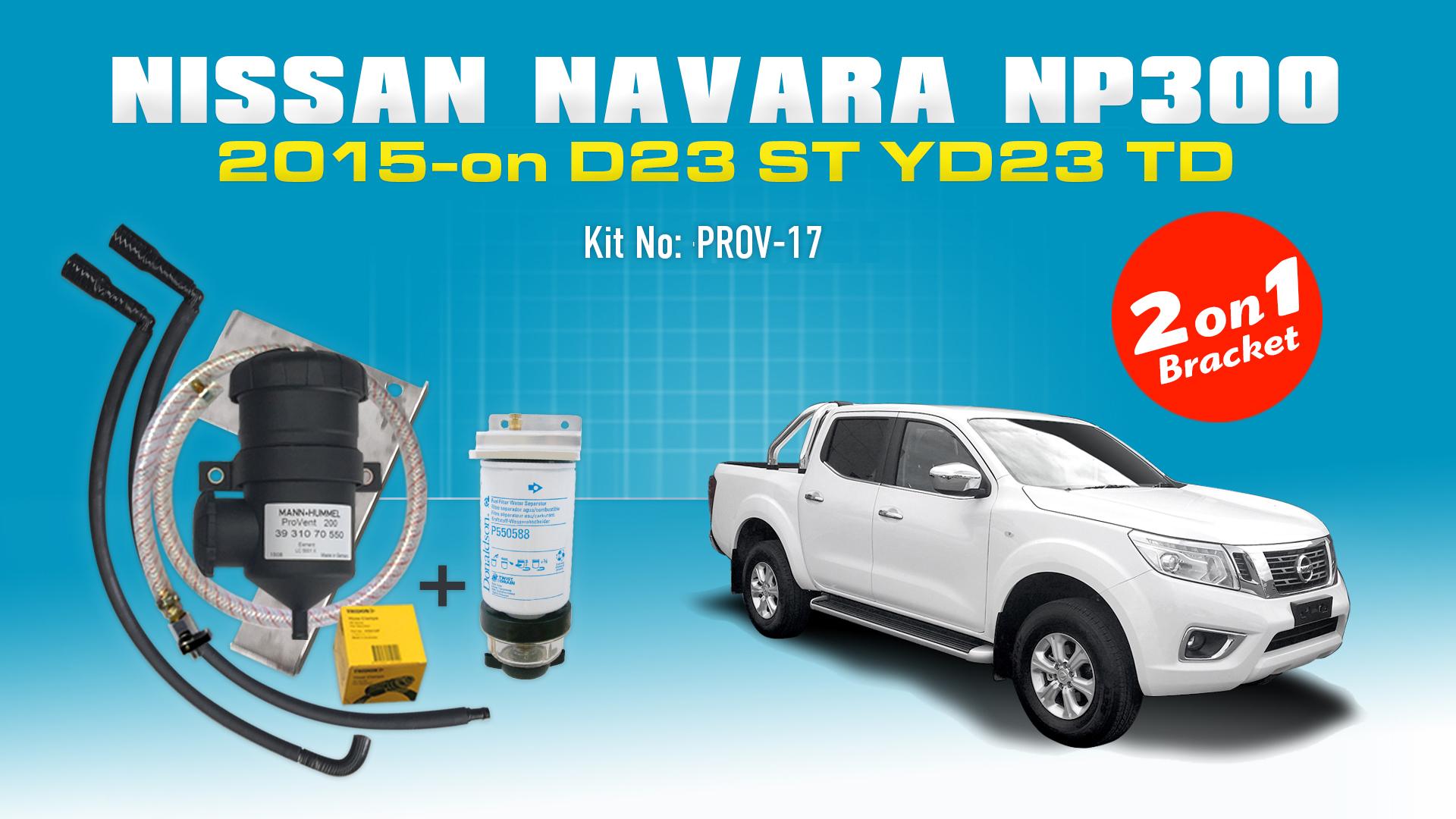 Nissan Navara 2015 D23 Np300 St 23l Mercedes X250d Provent Oil 4 Wheeler Fuel Filter Catch Can Dual Bracket Kit Online Store