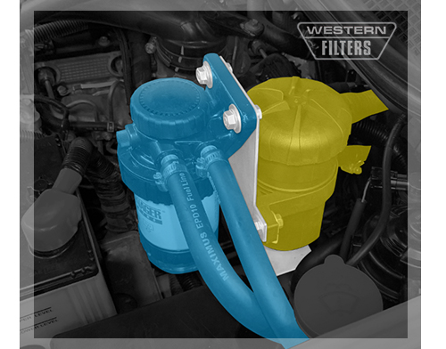 Provent & Fuel Manager Installation in Isuzu D-Max 4JJ1-TCX 2012-16 Western Filters