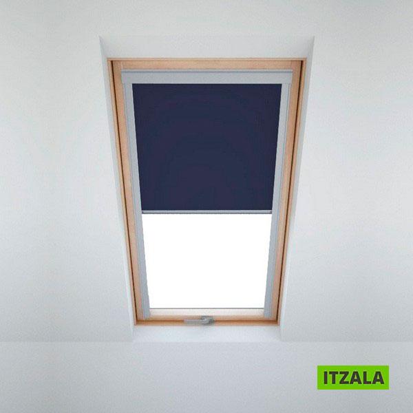 velux ggu 606 cool hdm cm beige roof window roller blinds blackout blind sun visual protection. Black Bedroom Furniture Sets. Home Design Ideas