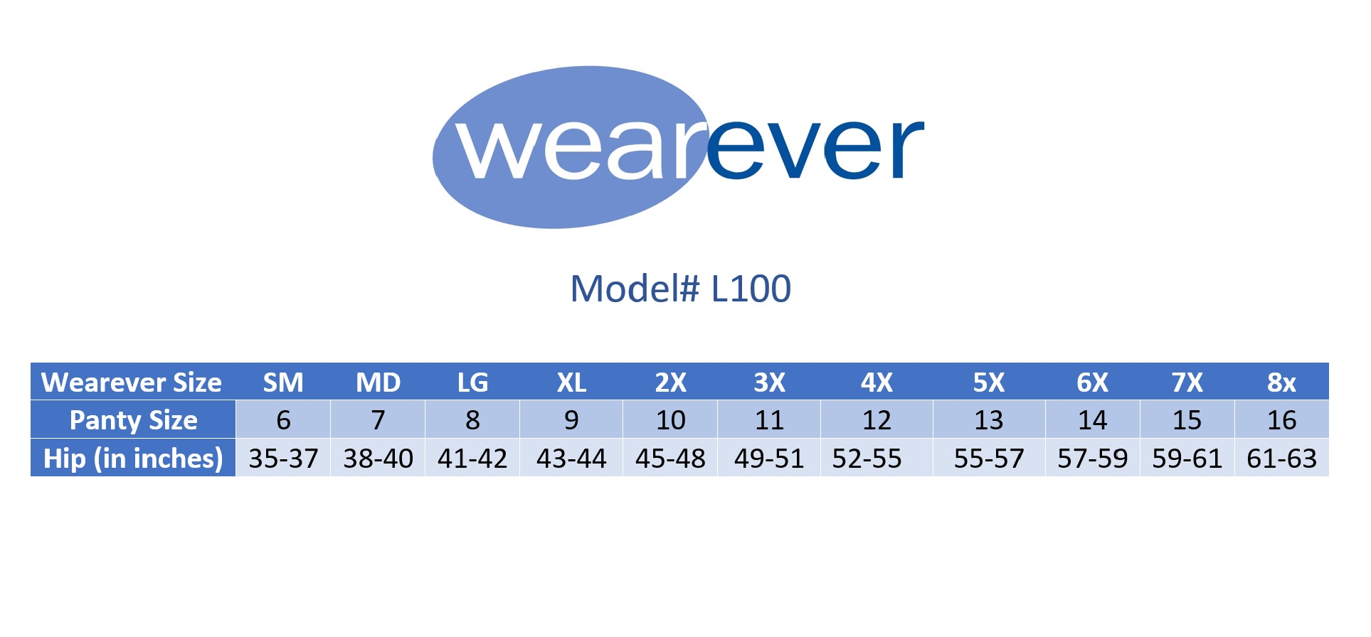 1-Pack-Wearever-Cotton-Comfort-Regular-Absorbency-Reusable-Incontinence-Panty thumbnail 8
