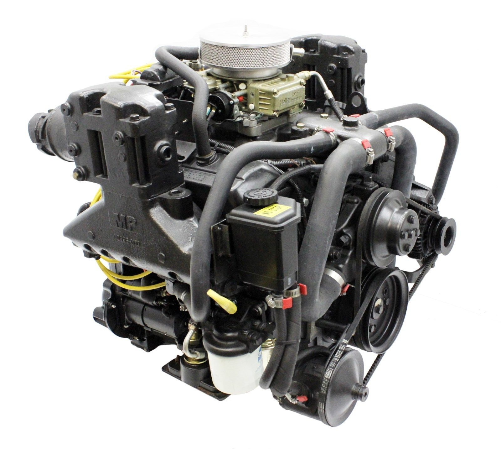 4 3l vortec v6 4bbl new boat motor engine 225hp for mercruiser volvo omc ebay. Black Bedroom Furniture Sets. Home Design Ideas