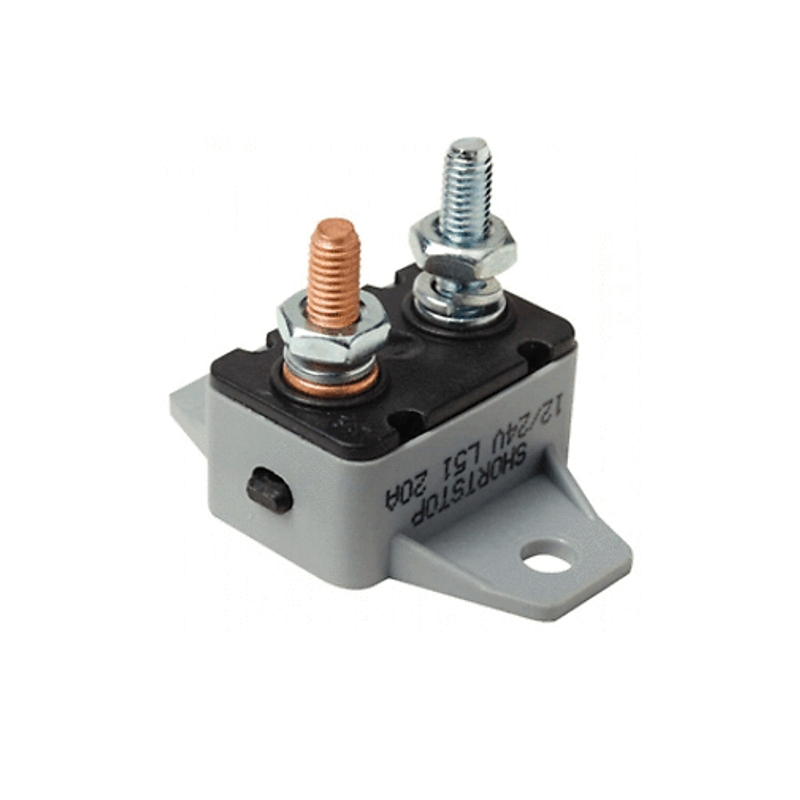 50 AMP Manual Reset Circuit Breaker 12v//24v Boat Accessory Trolling Motor