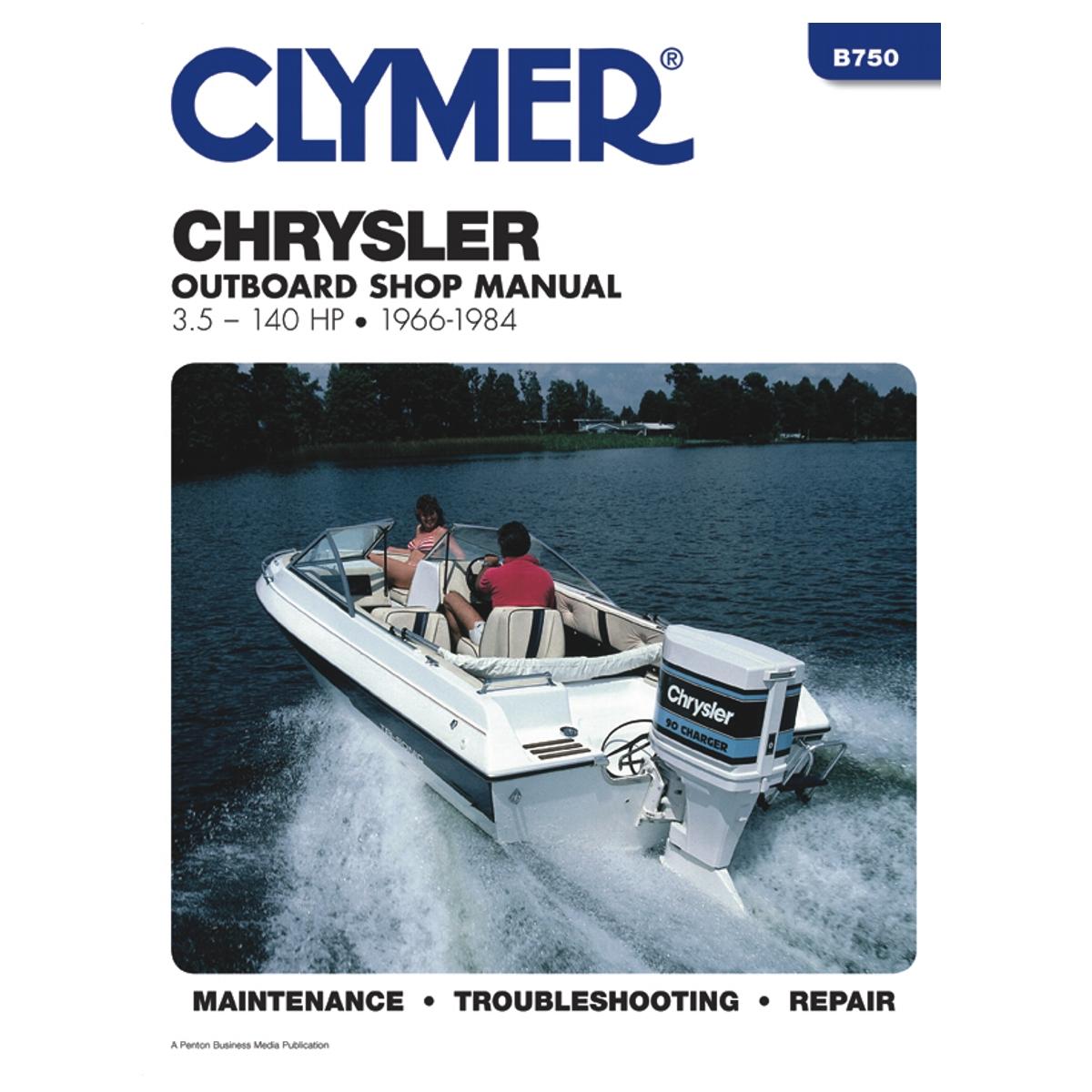 Repair Manual. Covers: All Chrysler 3.5-140 HP ...