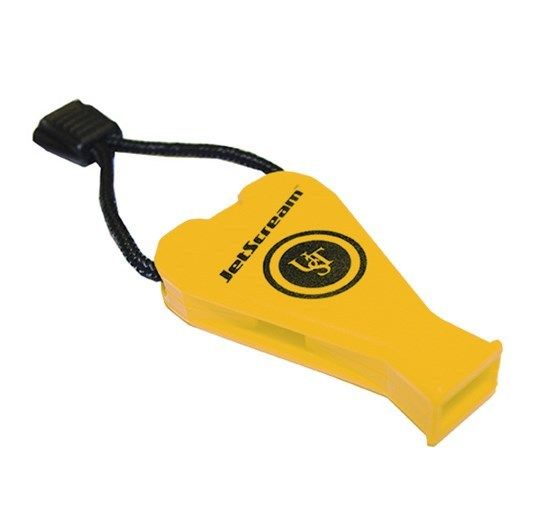 Stearns Solas ORANGE boating sporting events safety whistle with lanyard NEW!