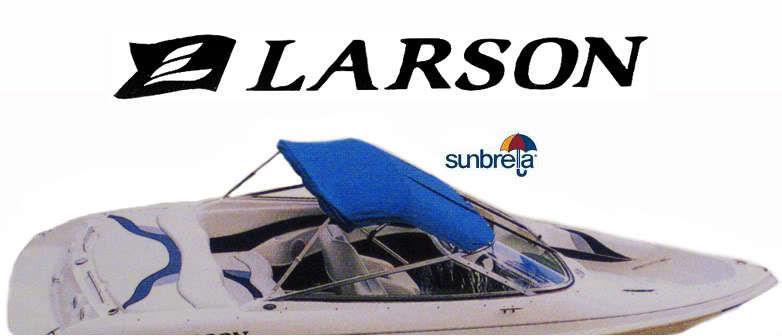 Larson Boats LXI 236 1997-1999 Convertible Sun Top Linen Color Factory OEM