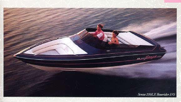 Larson Boats Senza 210 Lx Vintage Dash Gauge Panel 1988