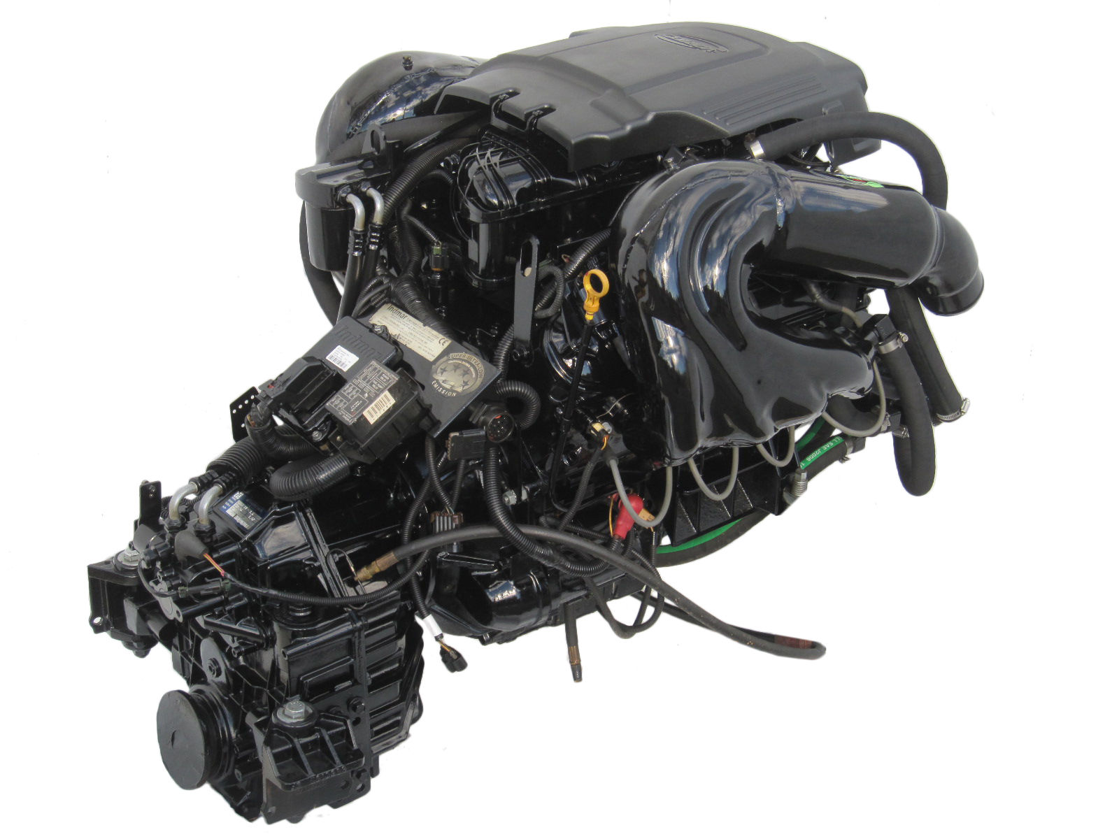 New Indmar 6 0l Vortec Inboard Marine Engine V Drive With Zf Transmission 1 6