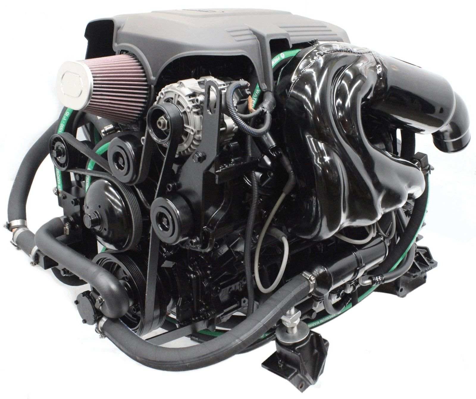 new indmar 6 0l 380 hp vortec inboard complete boat engine m5916 6 0 ebay. Black Bedroom Furniture Sets. Home Design Ideas
