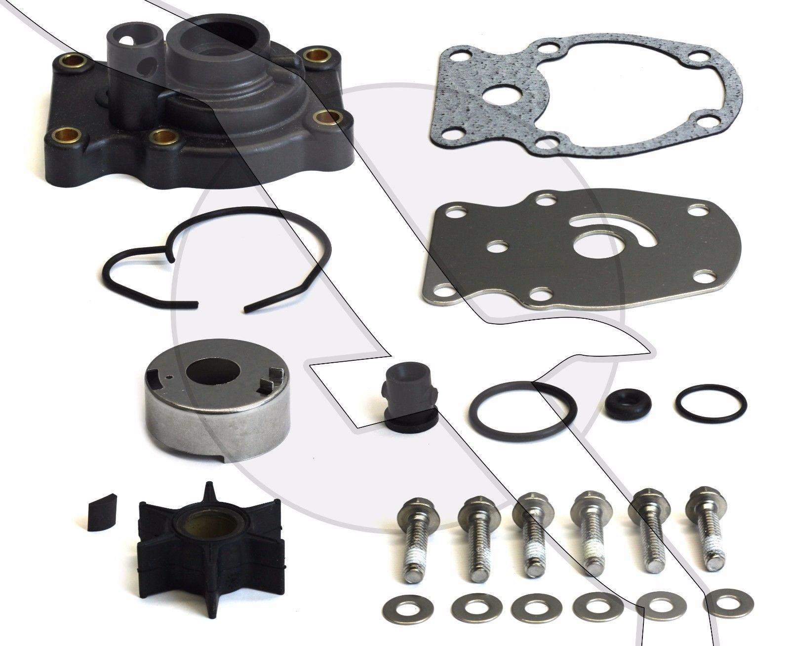 Water Pump Impeller Repair Rebuild Service Kit 20 35 Hp Johnson Evinrude 393630 Ebay