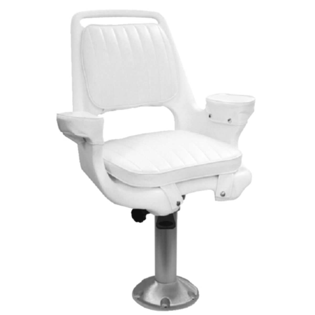 15 fixed height fishing boat captains pilot chair seat for Fishing boat seat