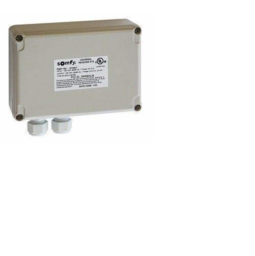 Somfy Universal Rts Receiver Control For 110v Ac Motors