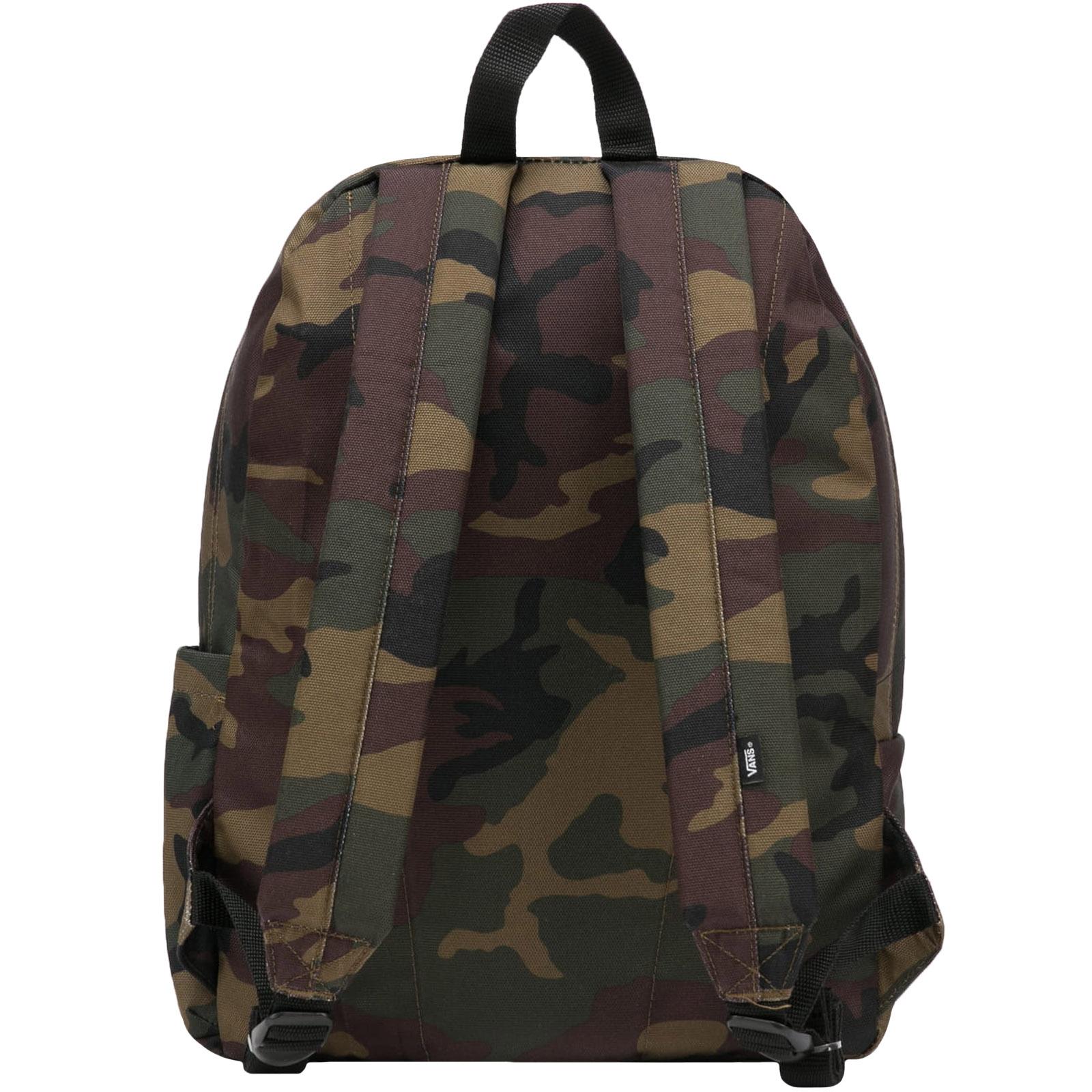 thumbnail 3 - Vans Unisex Old Skool III Adjustable Strap School Travel Rucksack Backpack Bag
