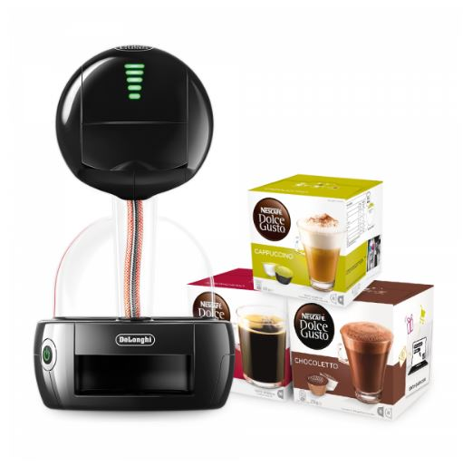 nescafe dolce gusto stelia machine 3 boxes of capsules. Black Bedroom Furniture Sets. Home Design Ideas