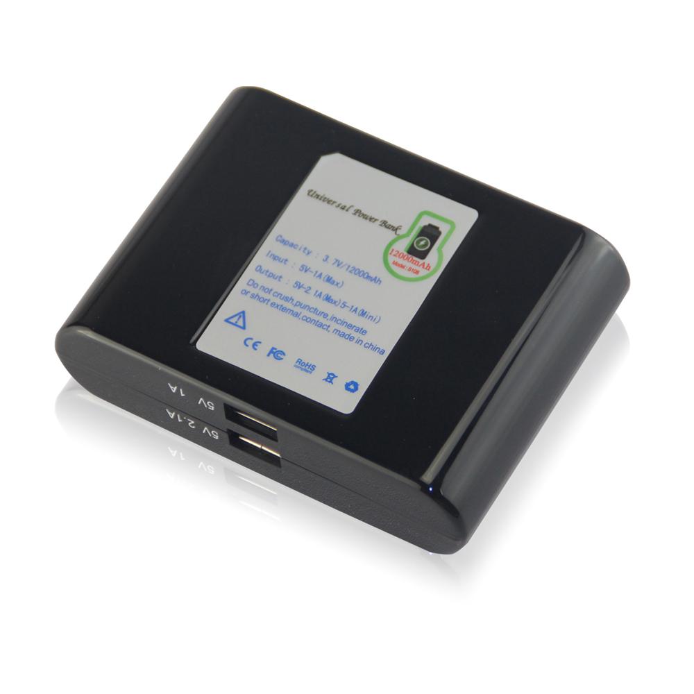 12000mah usb power bank backup emergency battery charger. Black Bedroom Furniture Sets. Home Design Ideas
