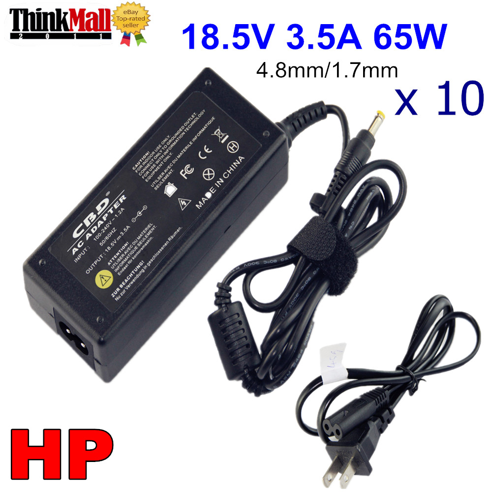 Image is loading Wholesale-Lot-10pcs-18-5V-65W-AC-Adapter-