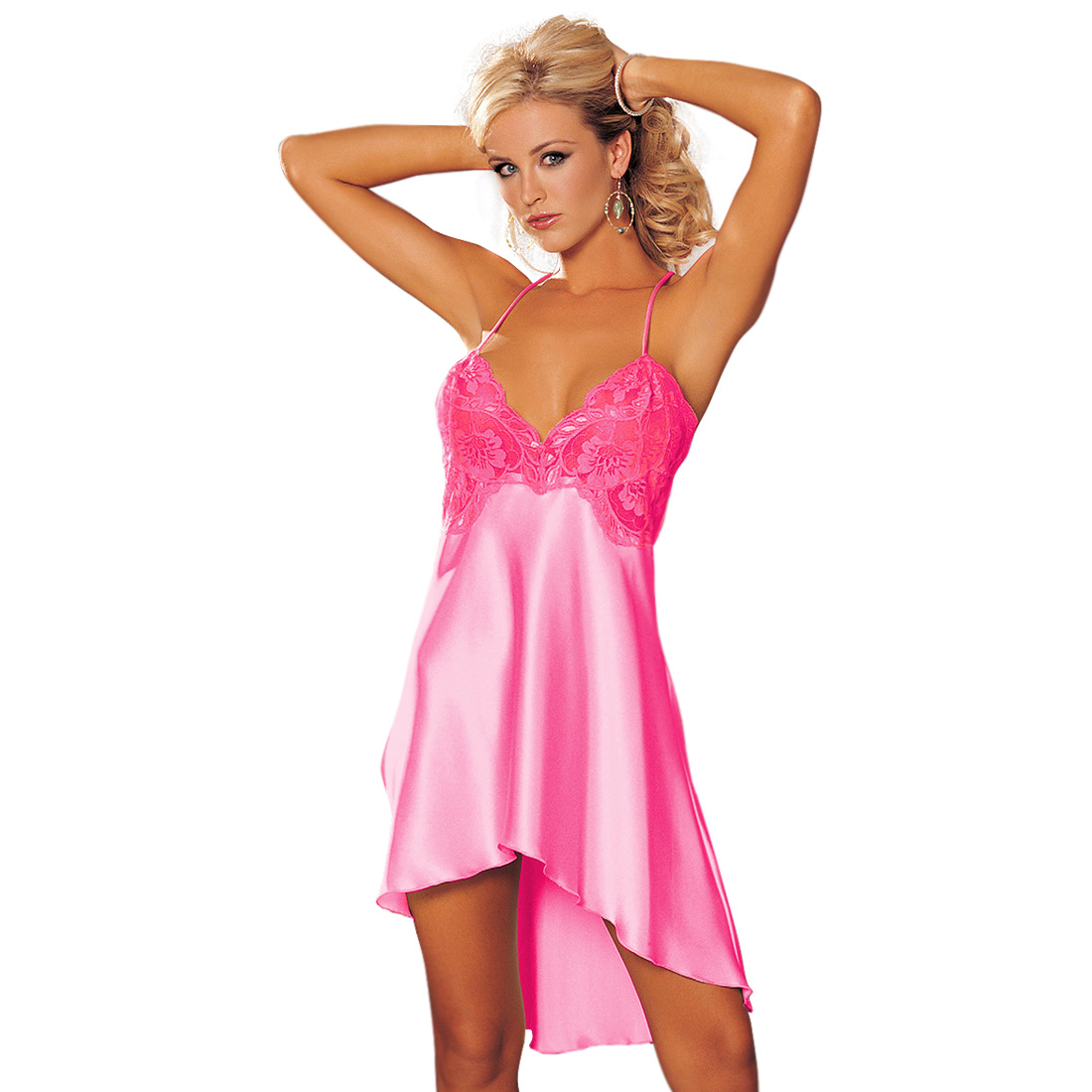 Womens Sexy Lingerie Night Gowns Dress Sleepwear Babydoll ...