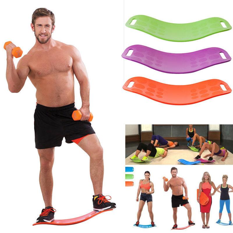 B Board Balance Your Workout: 4 Color Fit Balance Board Healthy Sport Yoga Balance