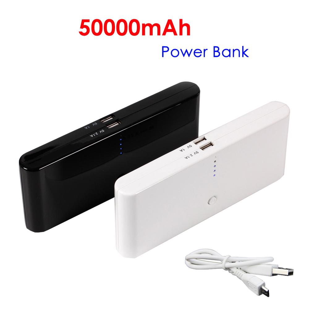 50000mah Travel Portable External Usb Battery Pack Power