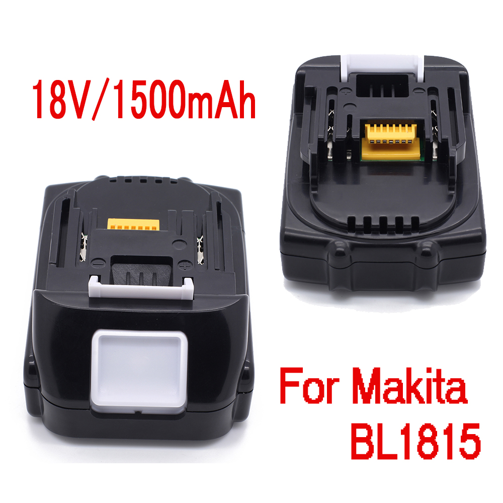 1 5ah 18v battery for makita bl1815 bl1830 bl1835 194204 5. Black Bedroom Furniture Sets. Home Design Ideas