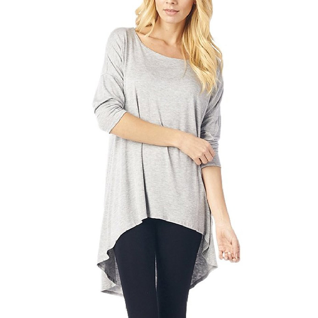Womens Tunic Blouse Top Casual Sheer Shirts Tank Tops