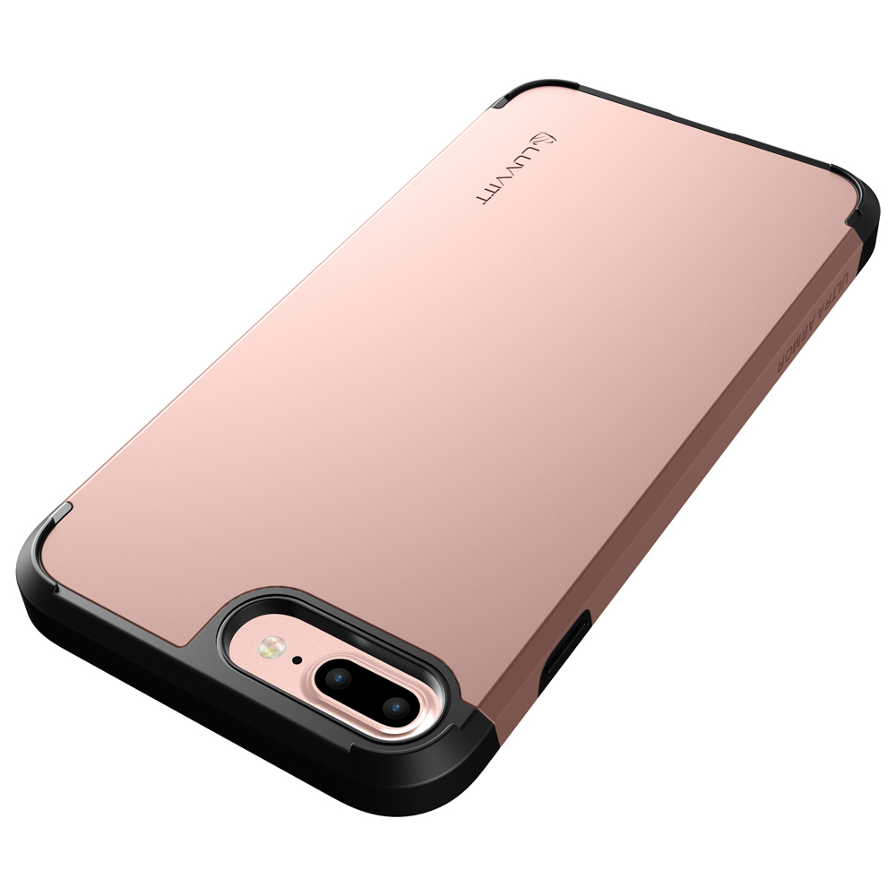 hot sale online 5ff8a 7de61 Details about Luvvitt Ultra Armor Dual Layer Case for iPhone 8 Plus