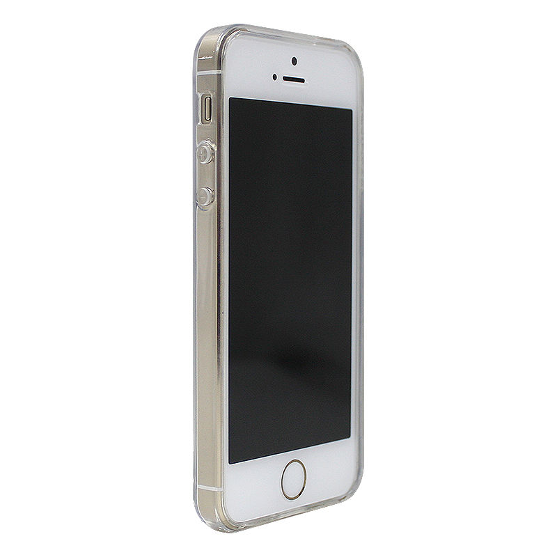 clear case for iphone 5s luvvitt clearview slim clear back with bumper for 16810
