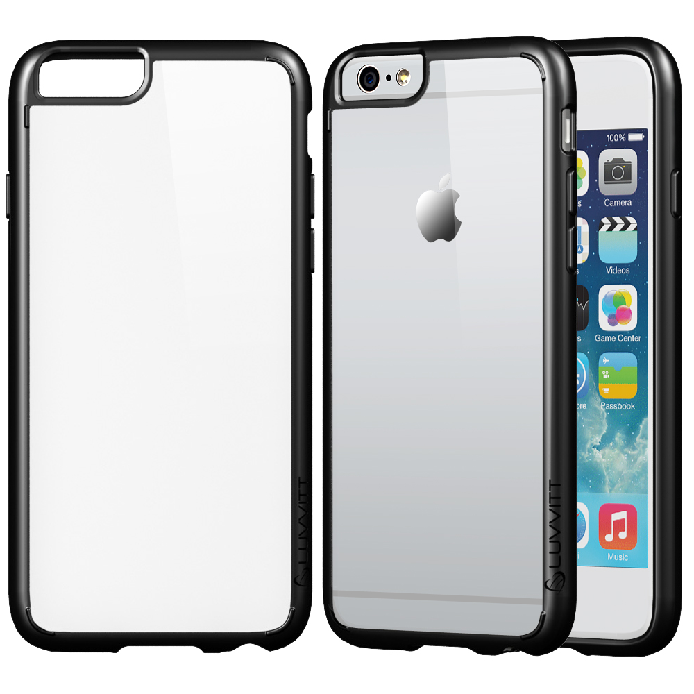 luvvitt clearview case for iphone 6 plus cover for. Black Bedroom Furniture Sets. Home Design Ideas