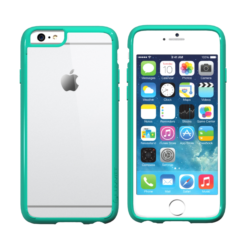 iphone 6 phone covers luvvitt clearview for iphone 6 6s back cover for 15014