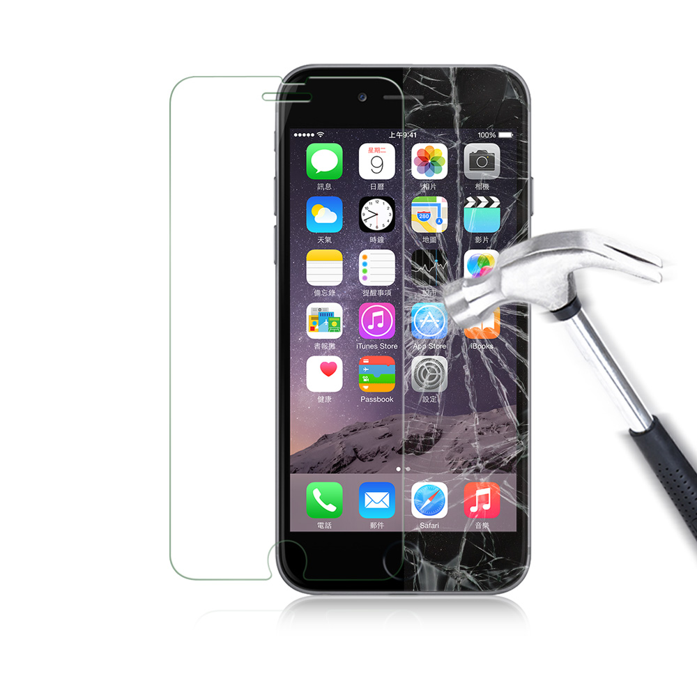 glass for iphone 6 luvvitt tempered glass screen protector for iphone 6 6s 14192