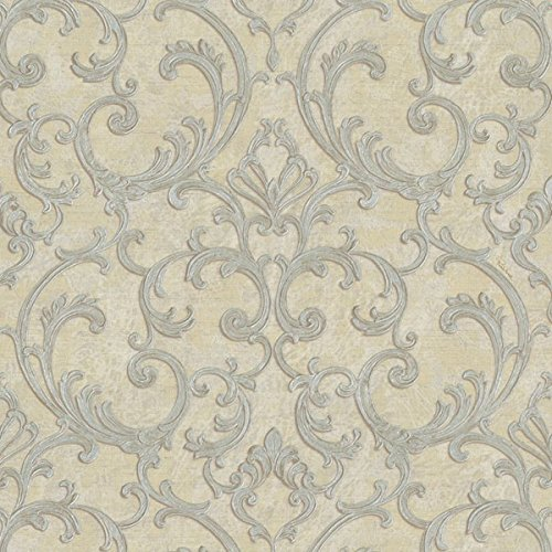 rc14047 roberto cavalli beige grau silber glitzer. Black Bedroom Furniture Sets. Home Design Ideas
