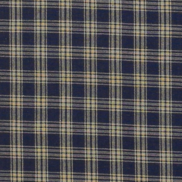 Sturbridge Plaid Lined Curtain Panels Country Wine Black
