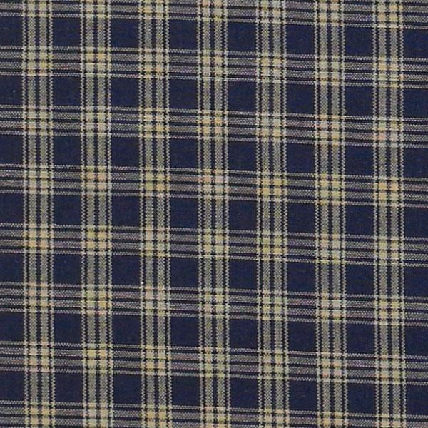 Sturbridge-Plaid-Valance-72x14-Unlined-Black-Wine-or-Navy thumbnail 5