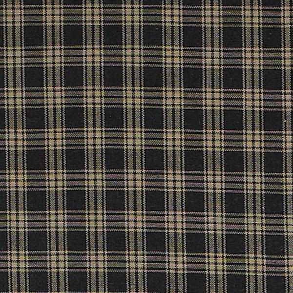 Sturbridge-Plaid-Valance-72x14-Unlined-Black-Wine-or-Navy thumbnail 3