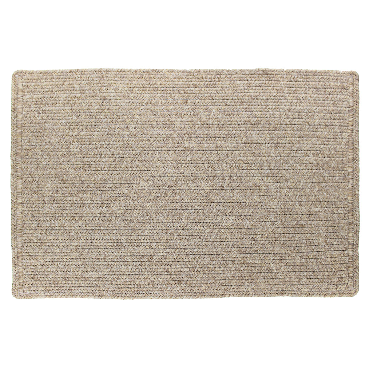 "Solid Color Slim Braided Indoor Outdoor Area Rug 20""x30 ... - photo#2"