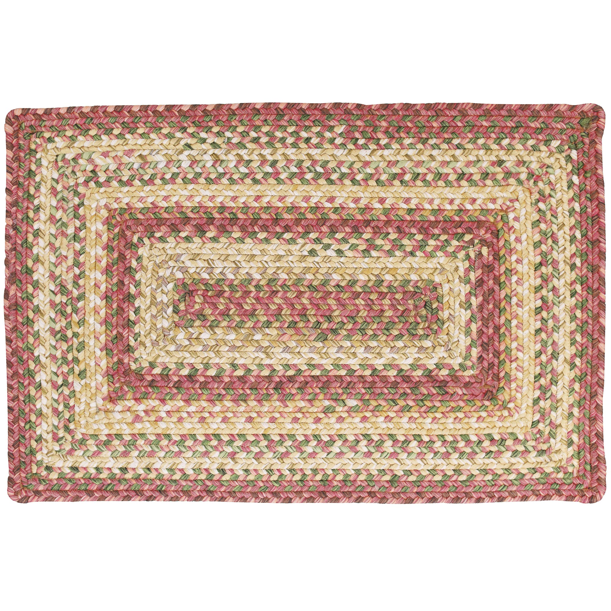 Washable Primitive Rugs: Braided Area Rugs Primitive Country Barcelona Homespice 20