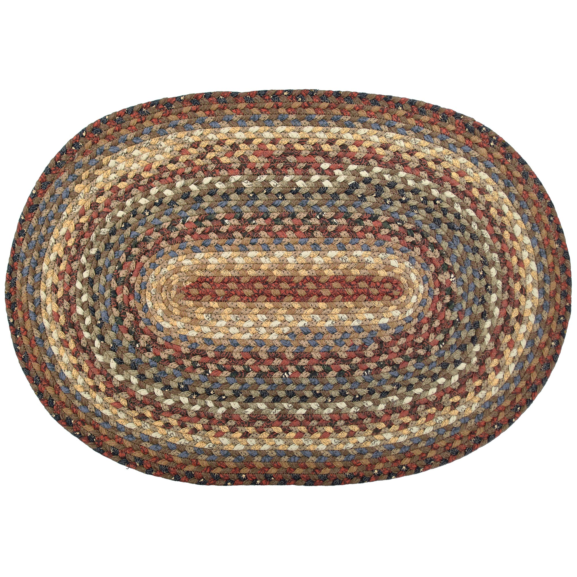 Biscotti Cotton Braided Area Rugs 20x30