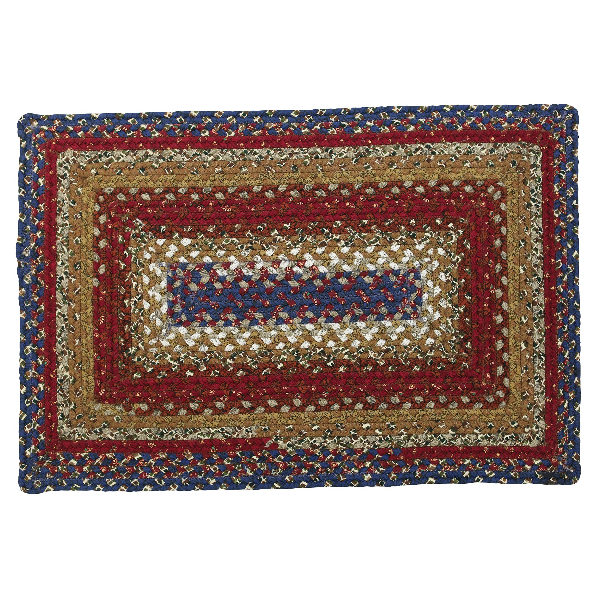 Americana Cotton Braided Area Rugs Oval Rectangle 20x30