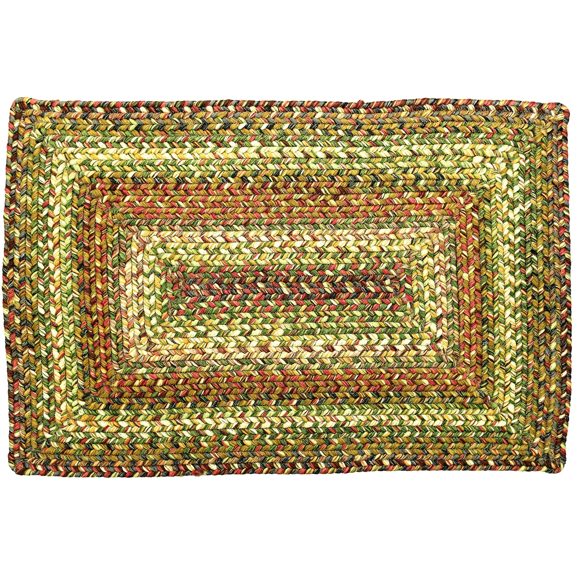 Washable Throw Rugs On Sale: Rainforest Ultra Durable Washable Braided Area Rugs Oval