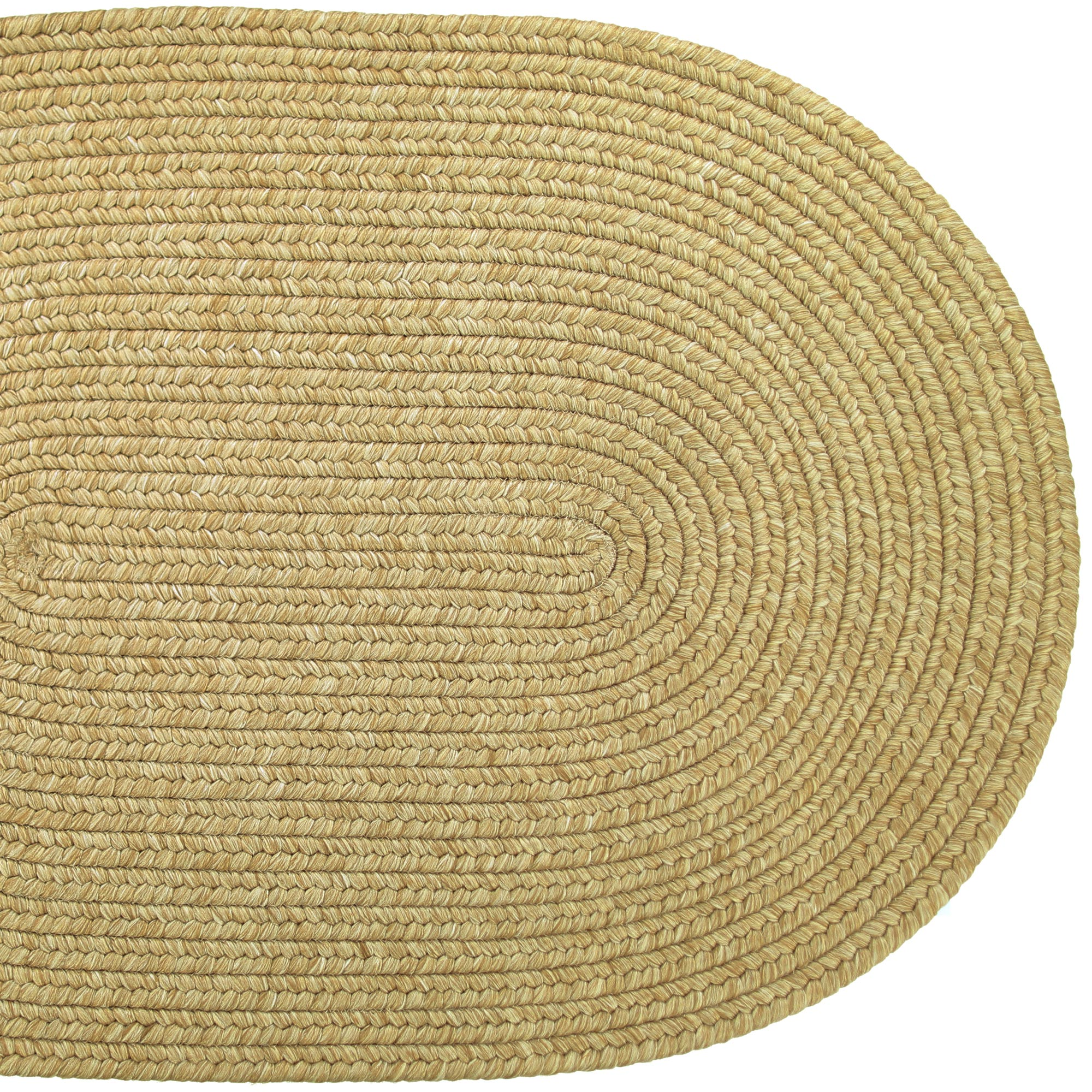 Solid Braided Area Rugs Indoor Outdoor Oval Rectangle - photo#42