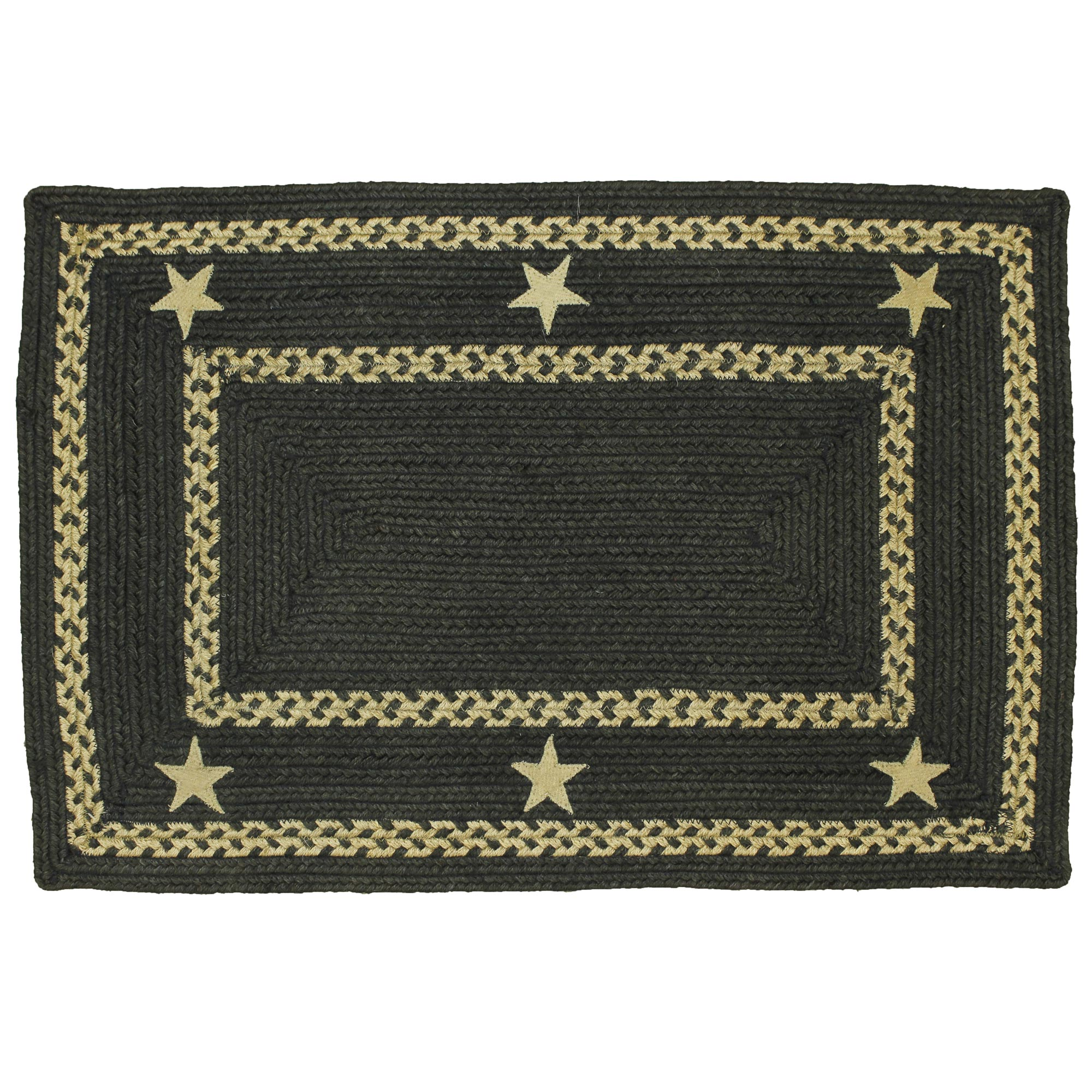 Texas Star Braided Jute Area Rugs