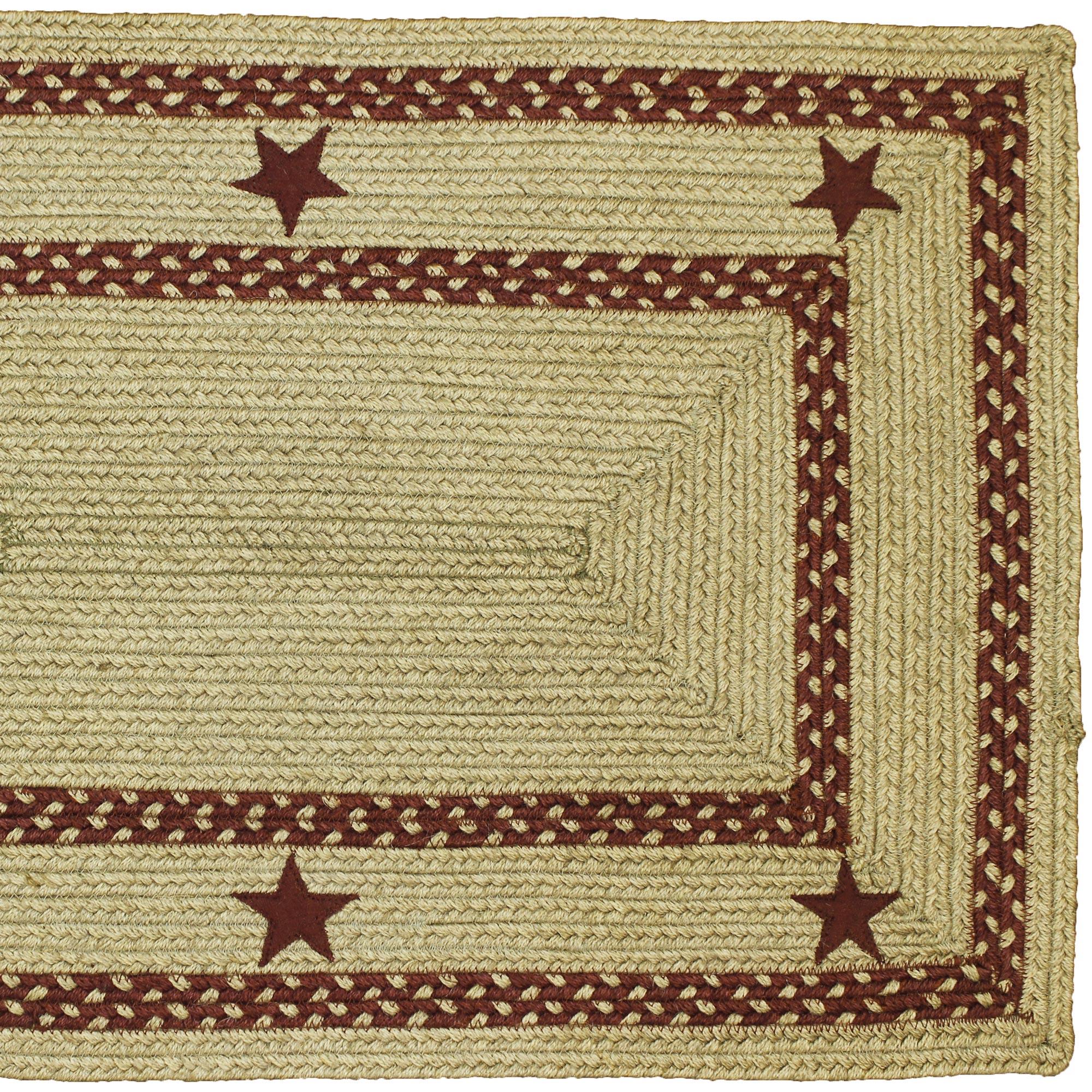 Texas Star Braided Jute Area Rugs Ebay