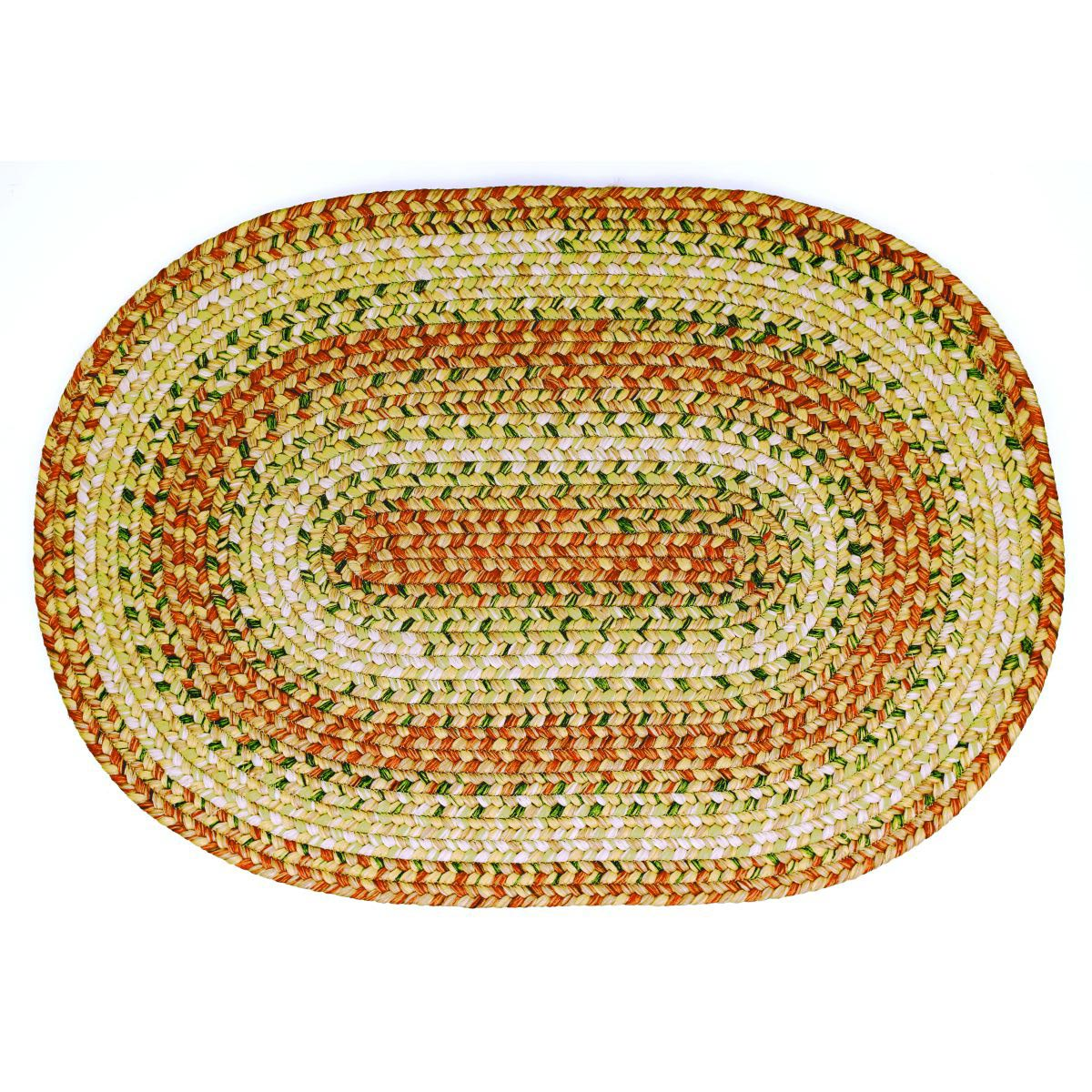 Versace Washable Rugs: Tuscany Ultra Durable Braided Area Rugs Indoor Outdoor