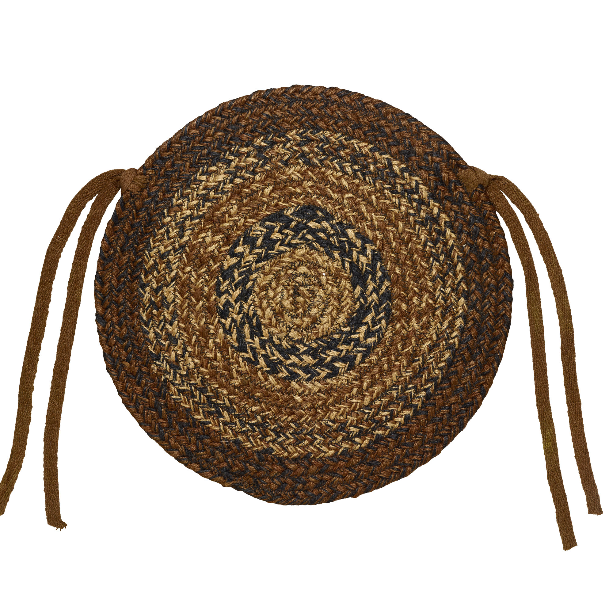 Braided Chair Pads Country Primitive By IHF Set