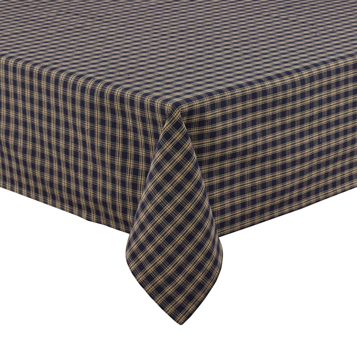 Table Cloth 54x54 In Navy Sturbridge Plaid Square 100 Cotton Park Designs