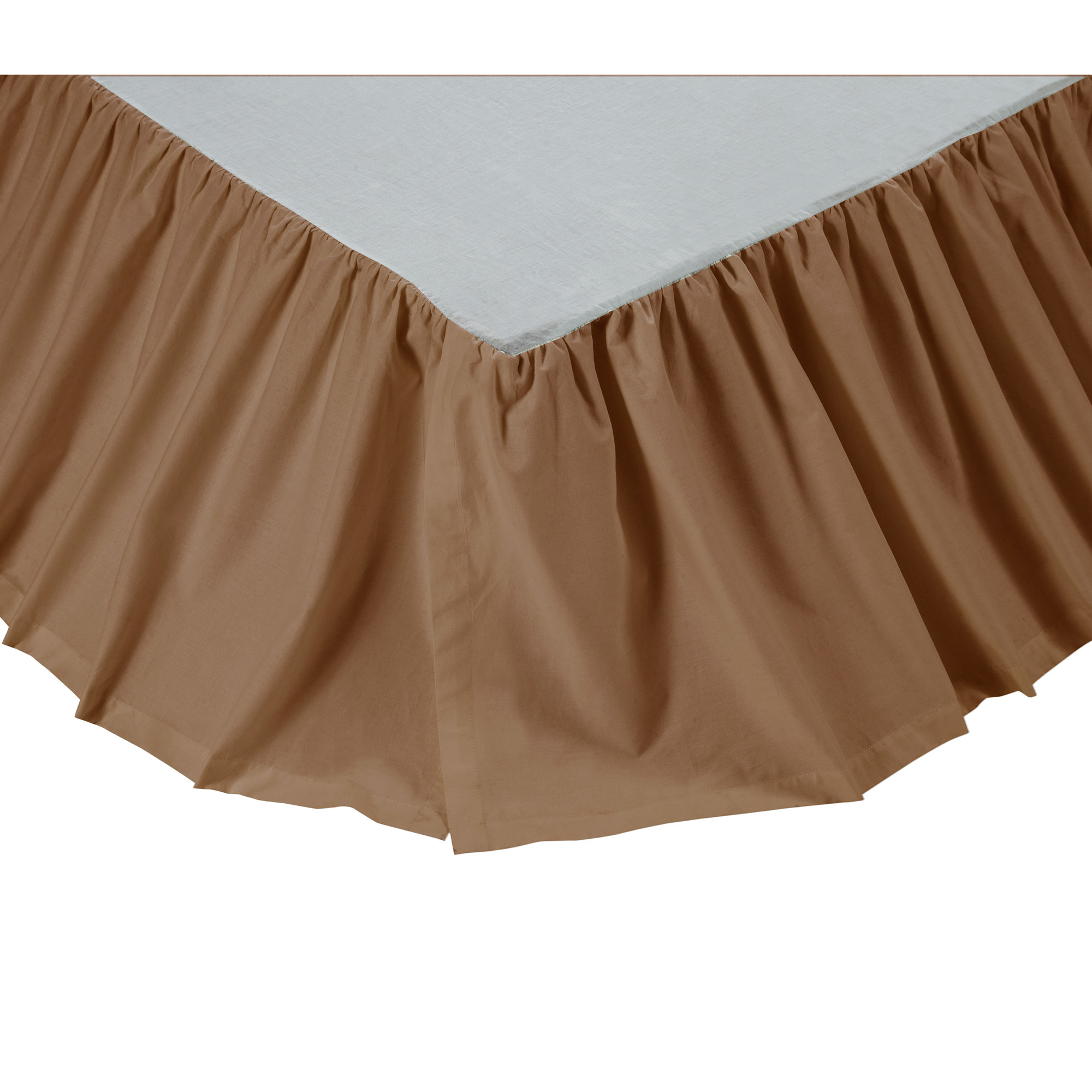 Solid Color Traditional King Queen Twin Bed Skirt Ebay
