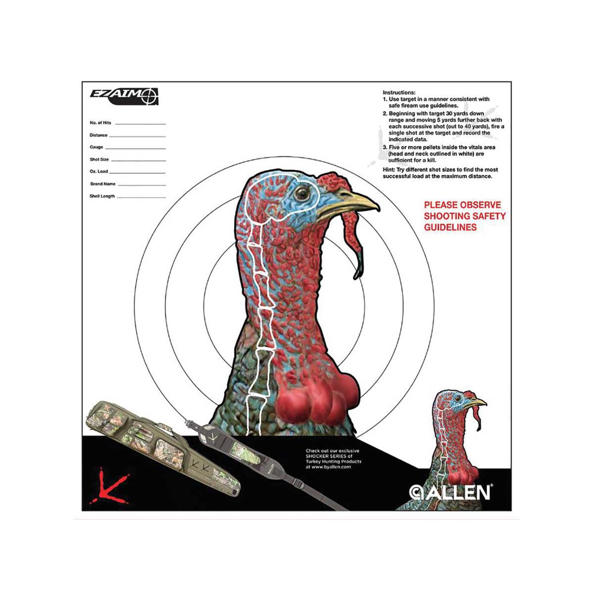 Allen Ez-Aim Turkey Target 6 Pack   eBay